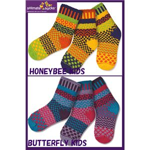 SOLMATE SOCKS KIDS COTTON SOCKS Firefly キッズSサイズ:商品画像